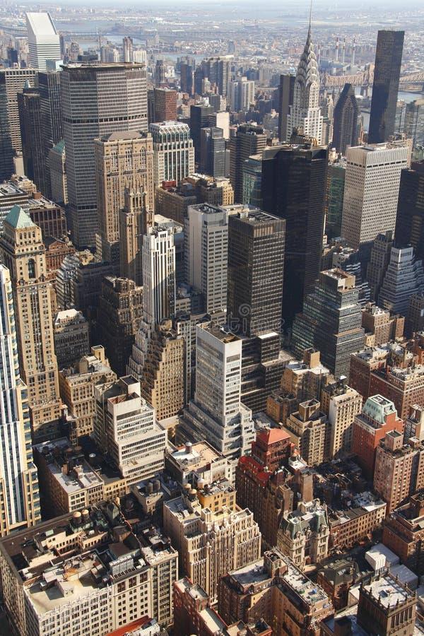 New York aérea fotos de stock