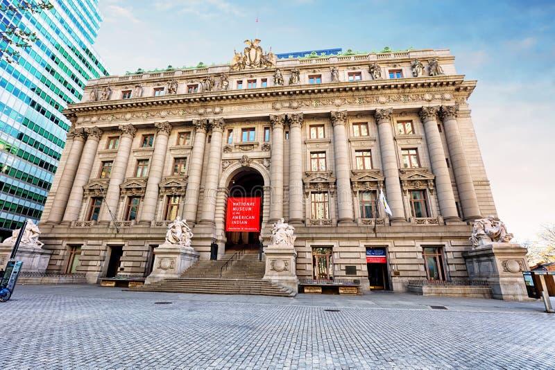 NEW YORK - 15 april, 2016: Het Nationale Museum van Amerikaanse I stock foto's