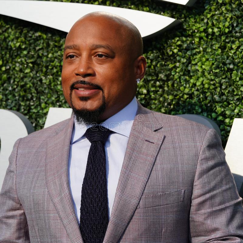 """Daymond John, Business Entrepreneur and Co-star of ABC's Hit show """"Shark Tank"""", at the red carpet before 2018 US Open stock images"""
