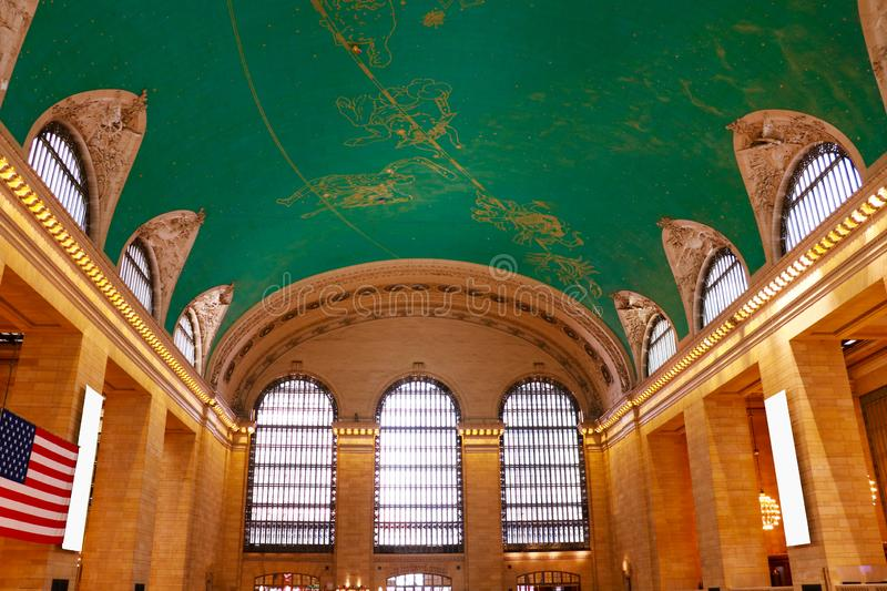 NEW YORK - 26. AUGUST 2018: Grand Central -Anschluss, NYC stockbilder