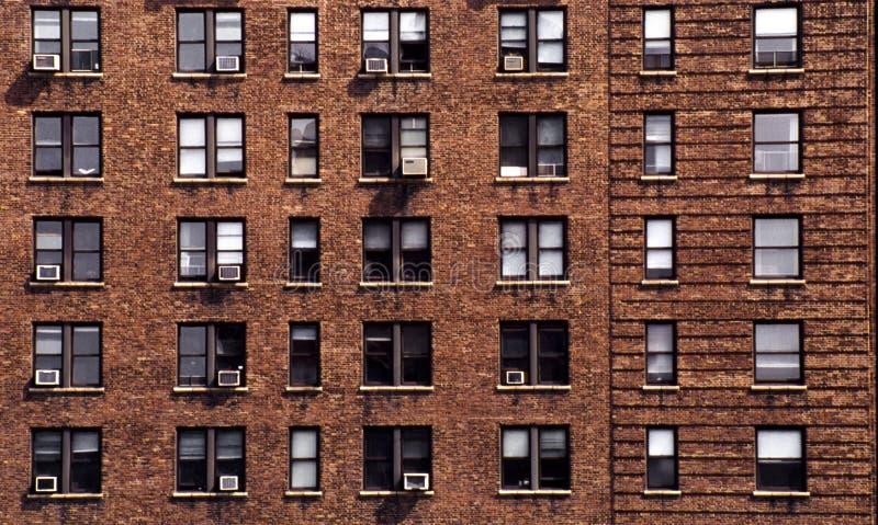 New York block of flats stock photo