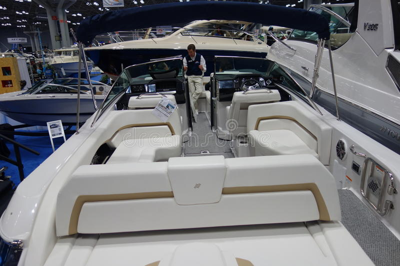 The 2014 New York Boat Show 90 royalty free stock photo