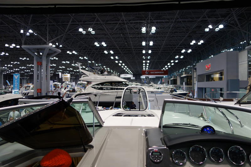 The 2014 New York Boat Show 129 royalty free stock photo