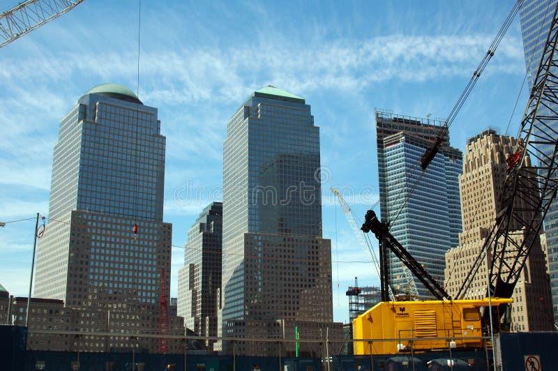 New York - Bodennullpunkt lizenzfreie stockfotografie