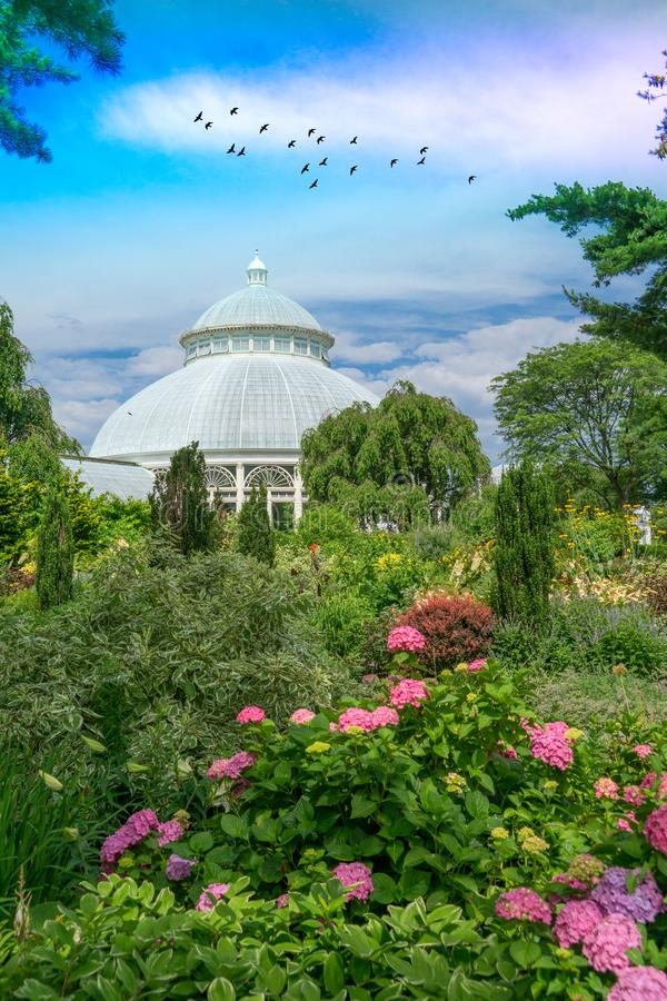 The New York Botanical Garden Editorial Photo - Image of haupt ...