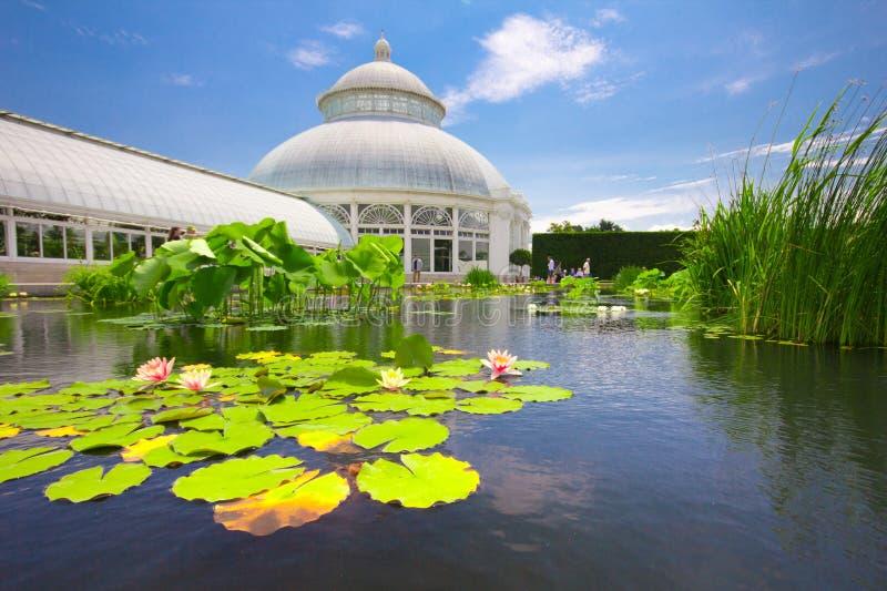New York botanisk trädgård royaltyfria foton