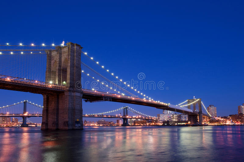 Download New york bridge stock photo. Image of manhattan, columns - 19735178