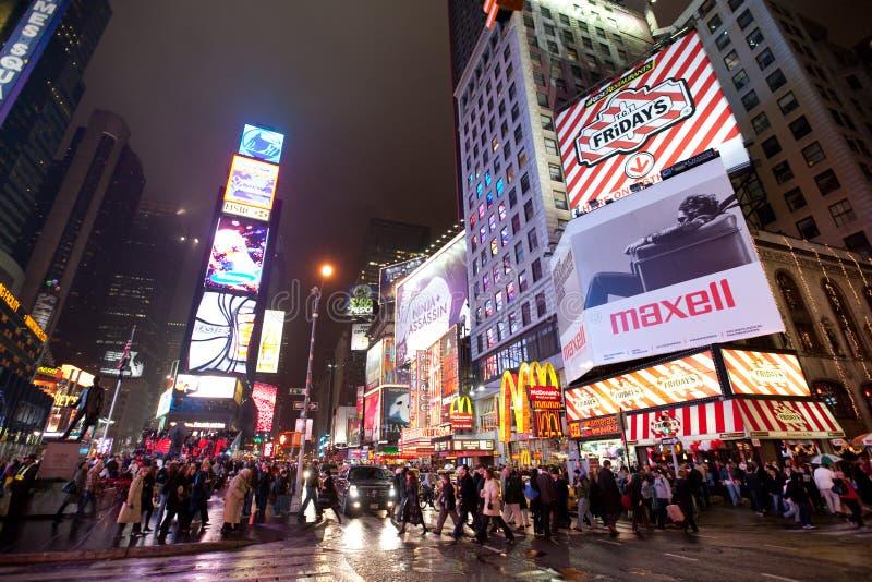 New York, Broadway imagens de stock