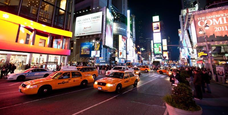 New York, Broadway fotografia de stock royalty free