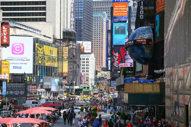 New York - Broadway foto de stock royalty free