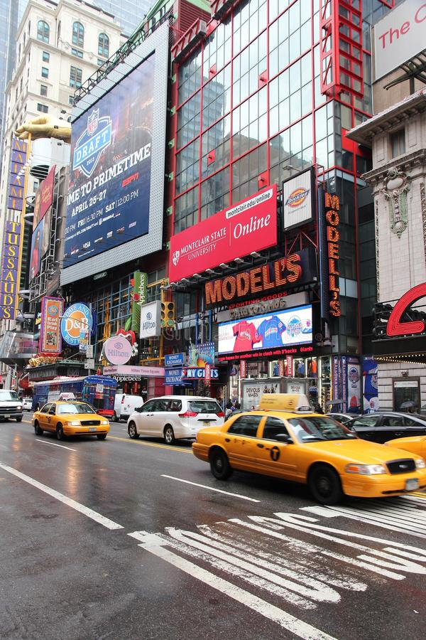 New York Broadway foto de stock