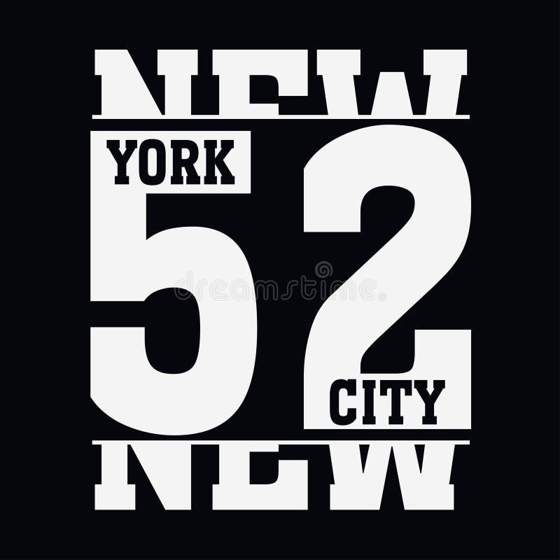New York Brooklyn illustrazione vettoriale