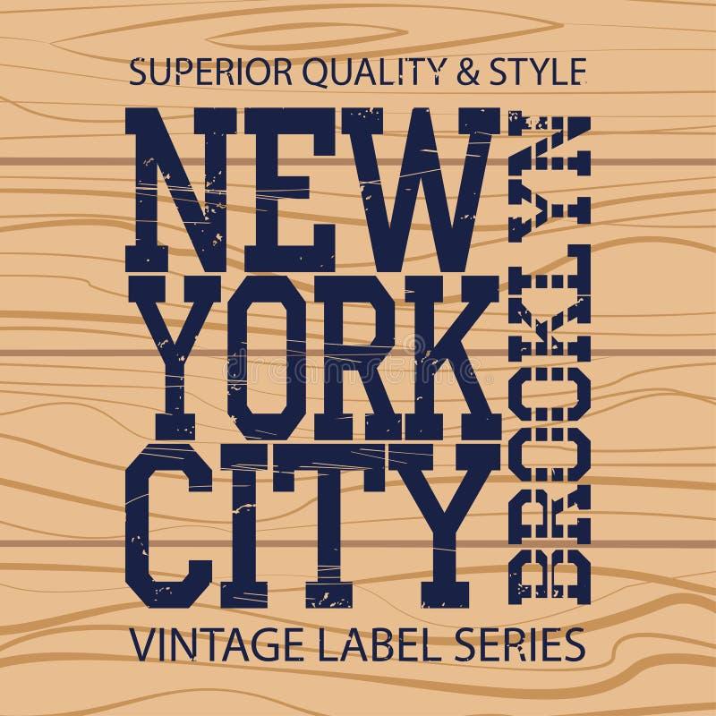 New York Brooklyn illustration libre de droits