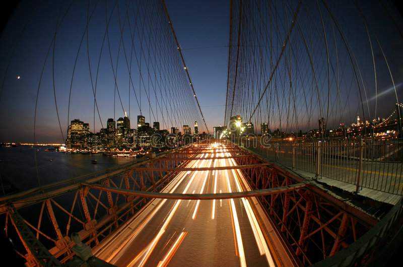 New York,Brooklyn bridge royalty free stock images