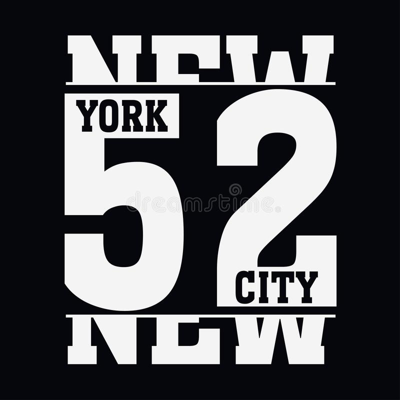 New York Brooklyn vector illustration