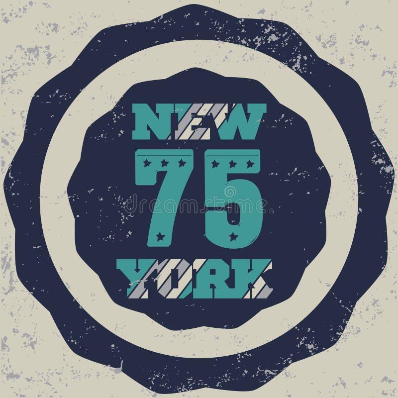 New York Brooklyn stock illustration
