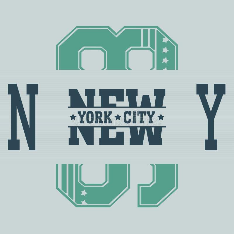 New York Brooklyn royalty free illustration