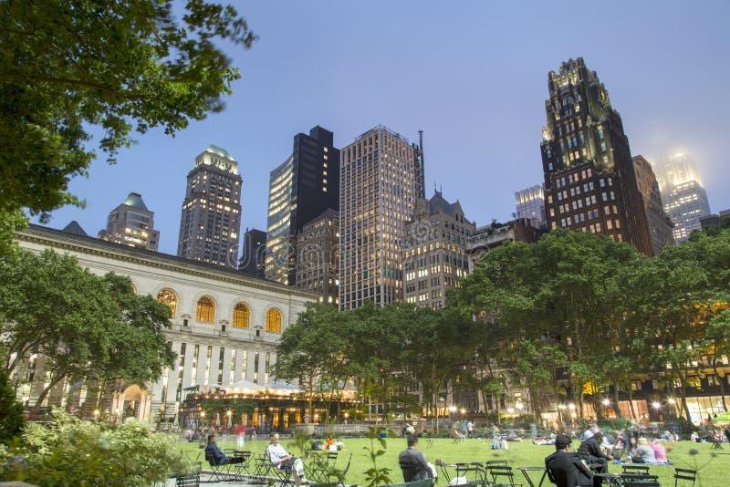 New York, Bryant Park photographie stock