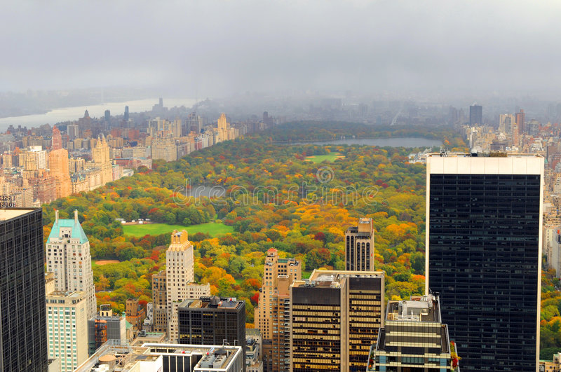 New York Central Park imagem de stock