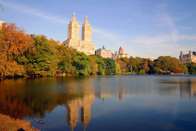 New York Central Park foto de stock