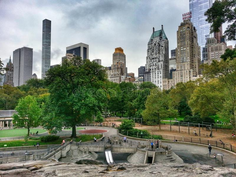 New York. Central Park Manhattan New York City royalty free stock photography