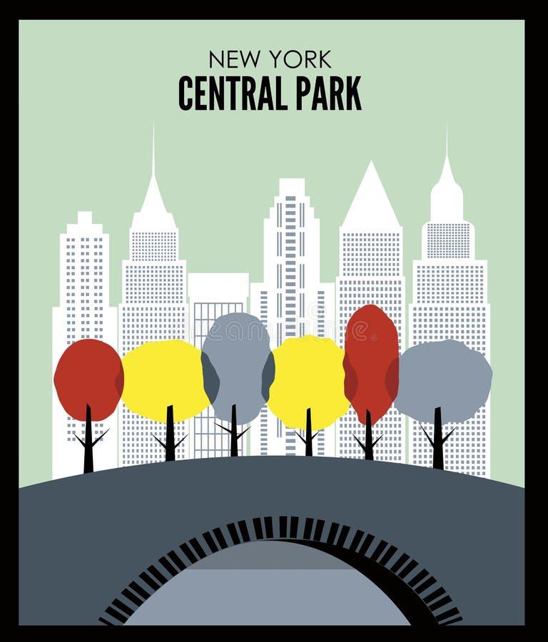 New York Central Park U.S.A. America immagini stock libere da diritti
