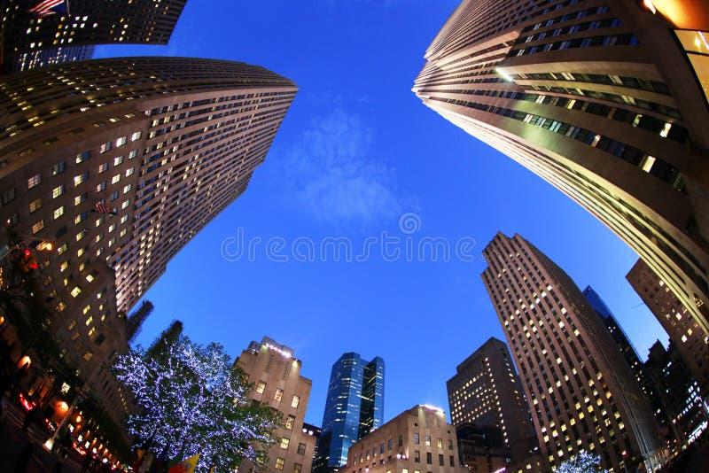 New York. Centro de Rockefeller fotografia de stock