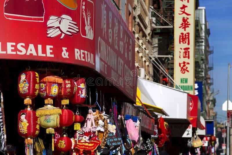 New York Chinatown lizenzfreie stockfotos
