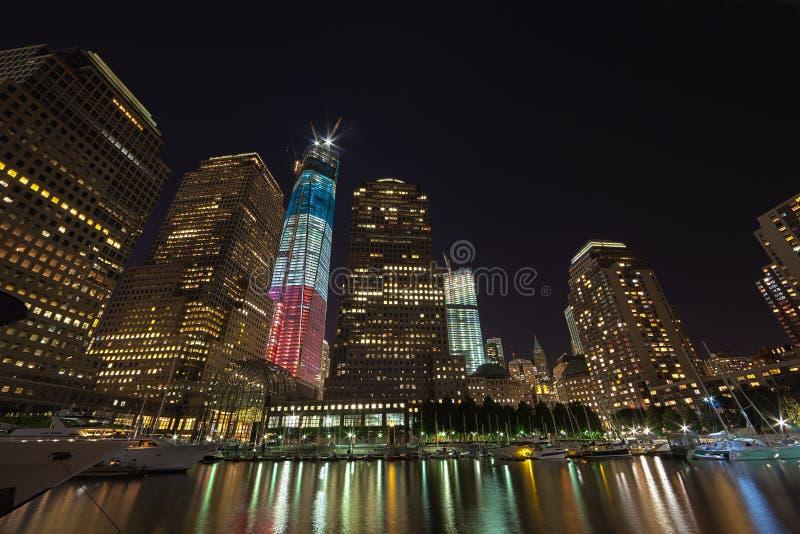NEW YORK CITY - 17 SEPTEMBRE : World Trade Center photographie stock