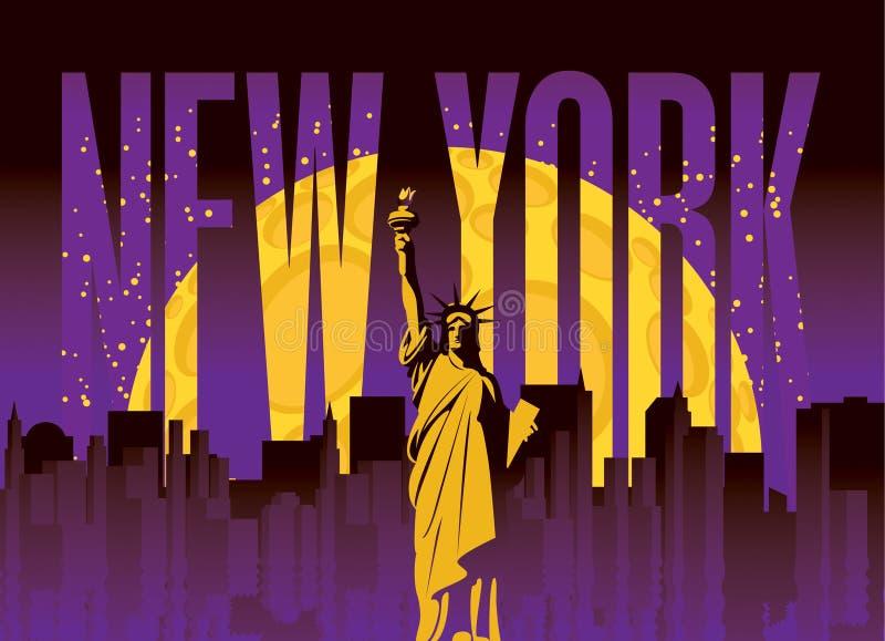 New York City illustration libre de droits