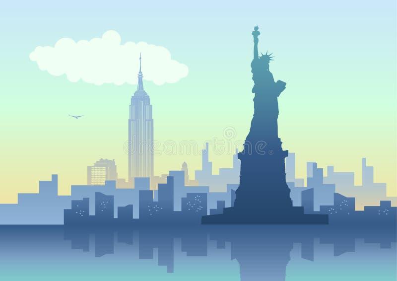 New York City vektor illustrationer
