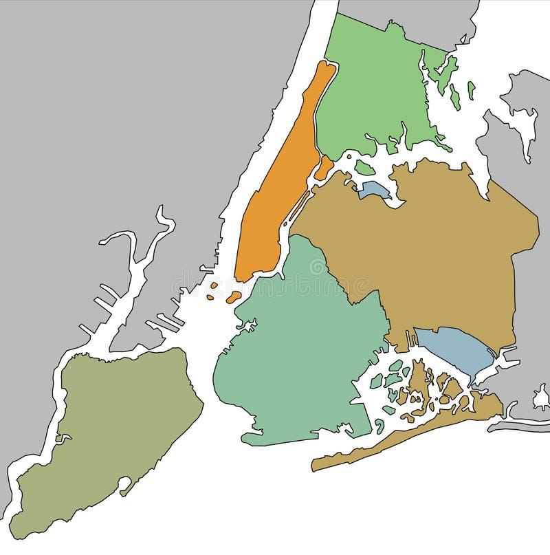 New York City illustrazione vettoriale