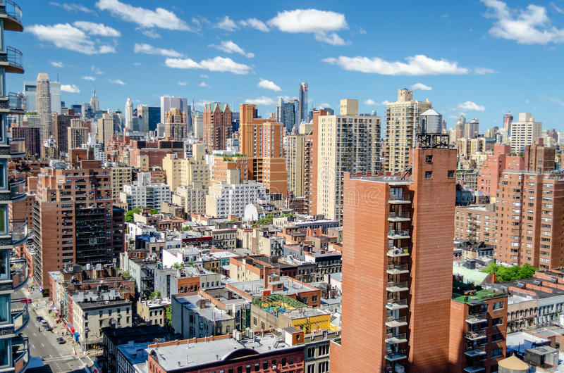 Download New York City, Aerial View stock image. Image of midtown - 32559447