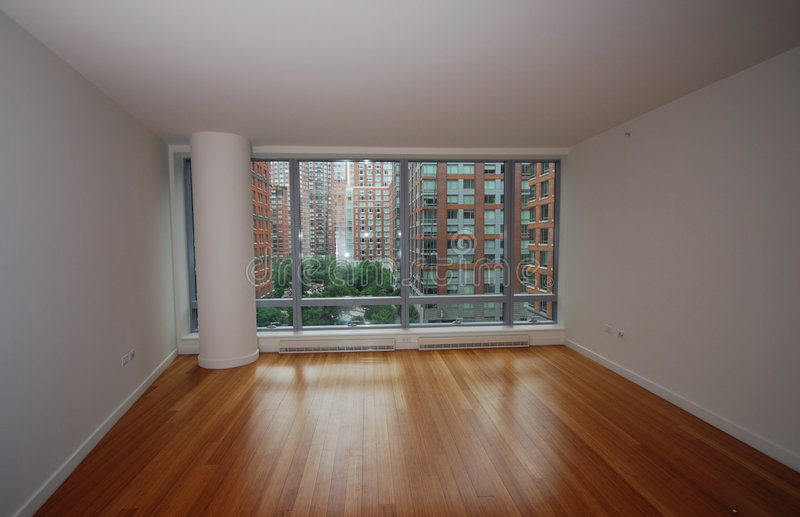 New york city apartment stock images
