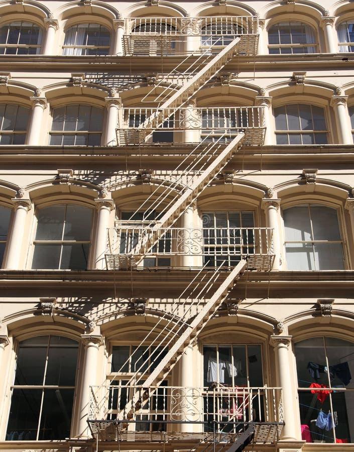 New York City arkitekturdetalj arkivfoton