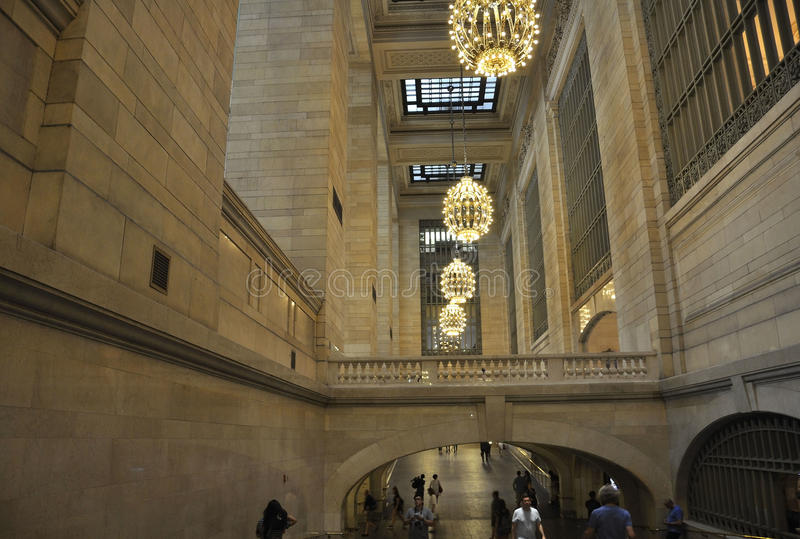New York City,august 3rd:Grand Central Station inside hall from Manhattan in New York stock photos