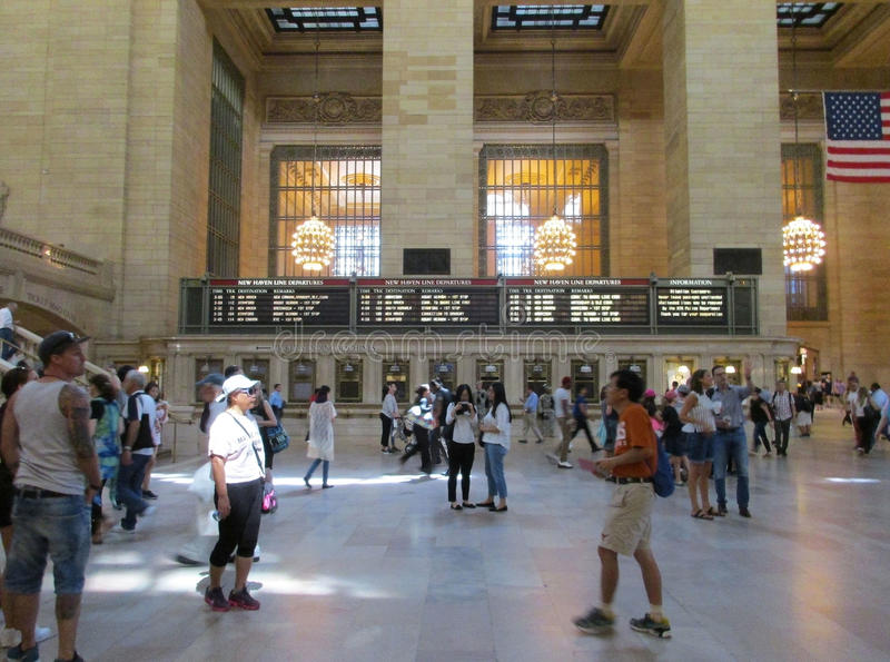New York City,august 3rd:Grand Central Station Main Hall interior from Manhattan in New York stock photos
