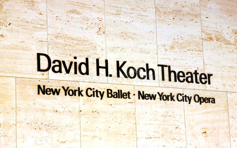 New York City Ballet royalty free stock images
