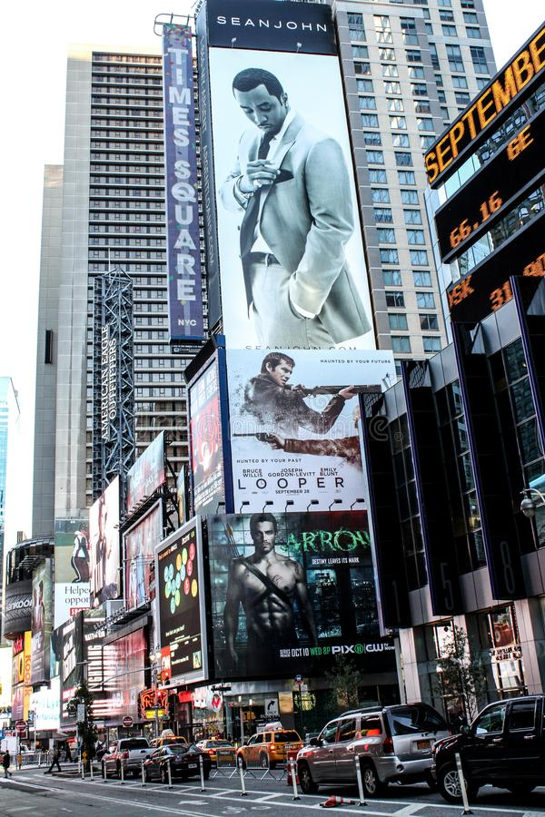 Times Square, New York City stock photography