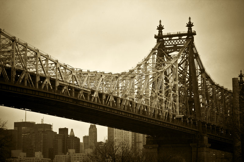 New York City Bridge Stock Images