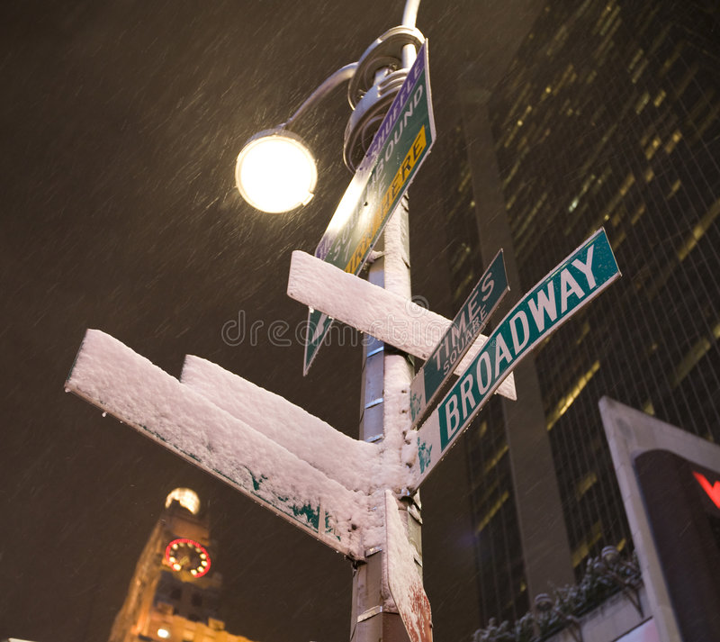 New York City, Broadway fotos de stock