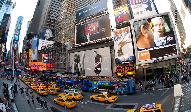 New York City, Broadway stockfotos