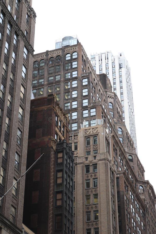 New York city buildings royalty free stock image