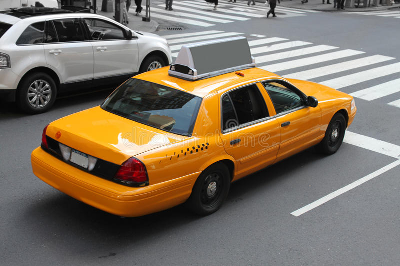 New York City Cab Royalty Free Stock Images