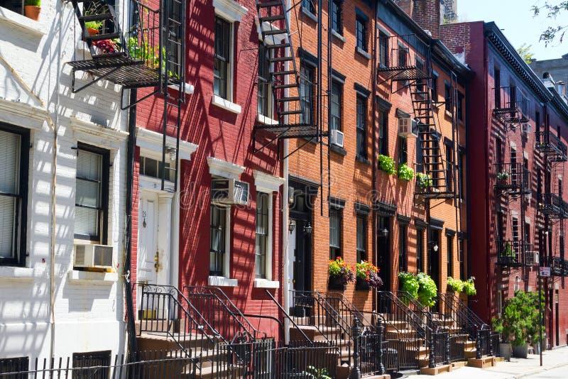 New York City - calle gay en Manhattan foto de archivo