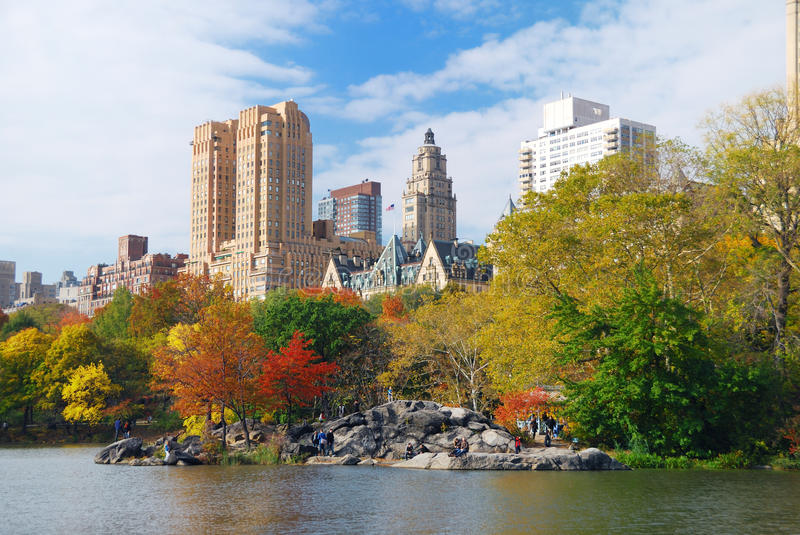 Download New York City Central Park stock photo. Image of fall - 16839946