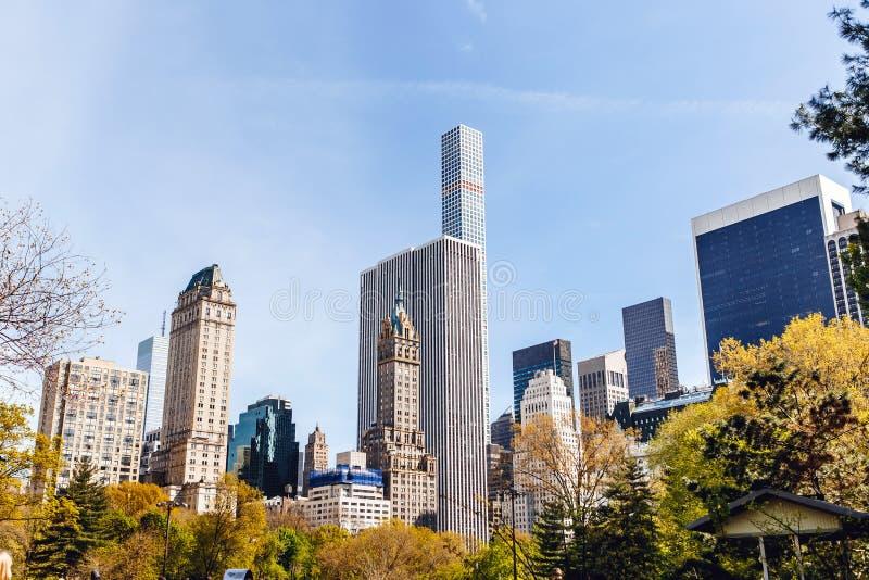New York City Central Park fotografía de archivo libre de regalías