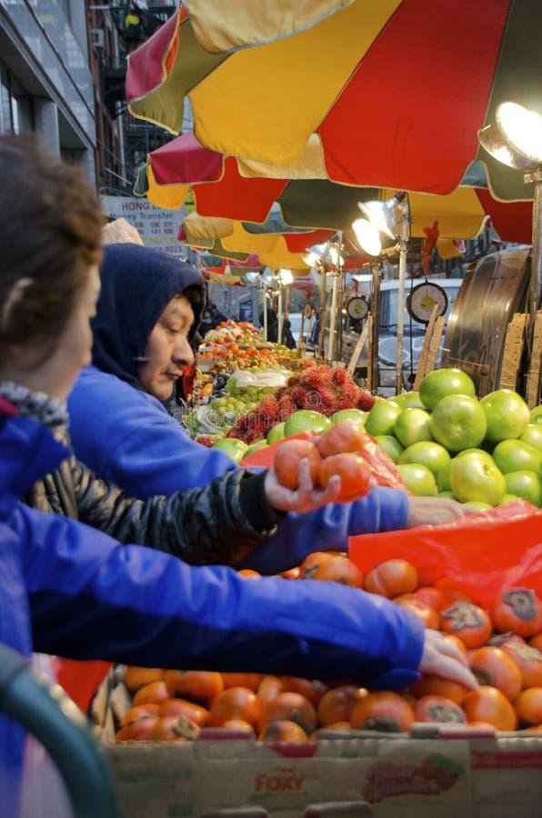 New York City Chinatown images libres de droits