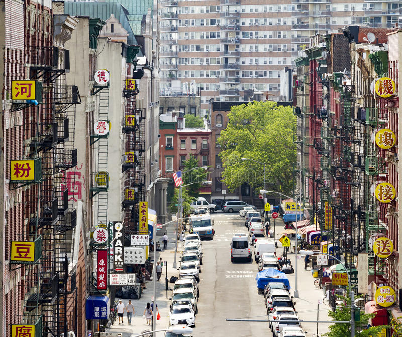 New york city chinatown street view editorial photo for Home holidays new york manhattan