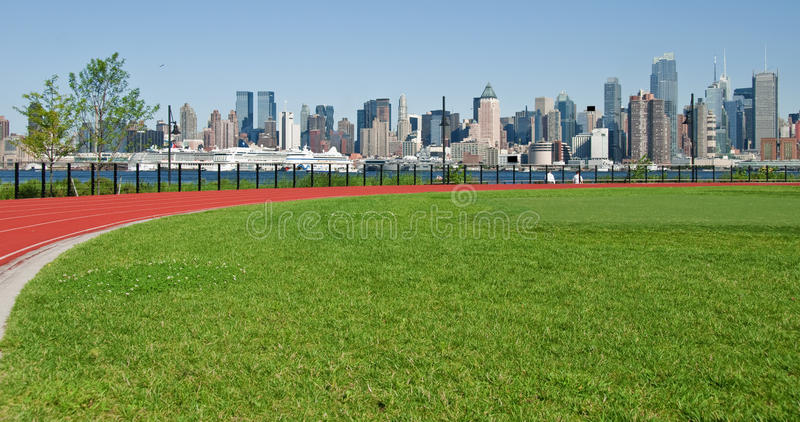 Download New York City Cityscape Over Hudson River Stock Image - Image: 16794829